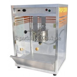 Prof. Comme. Popcorn Machine Accu+Gas or 230V BIG