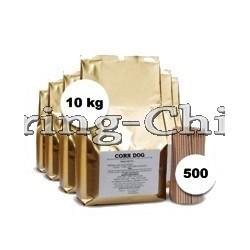10kg Corn Dog & Onion Ring batter mix + 500 Sticks