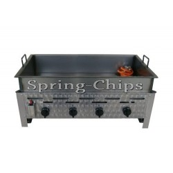 Gas Fryer 4-burner