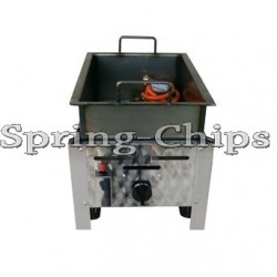 Gas Fryer 1-burner 6,2kW