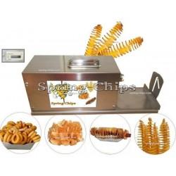 Elektrischer Kartoffel Spiral Schneider Standard+
